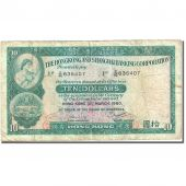 Billet, Hong Kong, 10 Dollars, 1959, 1980-03-31, KM:182i, TB