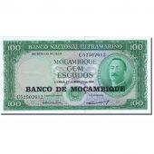 Banknote, Mozambique, 100 Escudos, 1961-1967, 1961-03-27, KM:117a, AU(55-58)