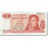 Banknote, Argentina, 1 Peso, 1973-1976, Undated (1974), KM:293, EF(40-45)