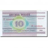 Banknote, Belarus, 10 Rublei, 2000, 2000, KM:23, UNC(63)