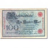 Banknote, Germany, 100 Mark, 1908, 1908-02-07, KM:33a, VF(20-25)