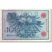 Billet, Allemagne, 100 Mark, 1908, 1908-02-07, KM:33a, TTB