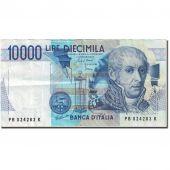 Banknote, Italy, 10,000 Lire, 1982-1983, 1984-09-03, KM:112a, EF(40-45)