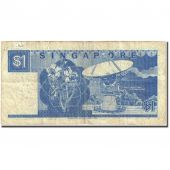 Banknote, Singapore, 1 Dollar, 1984-89, Undated (1987), KM:18a, VF(20-25)
