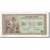 Banknote, Yugoslavia, 50 Dinara, 1946, 1946-05-01, KM:64a, AU(50-53)