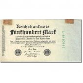 Banknote, Germany, 500 Mark, 1922, 1922-07-07, KM:74b, EF(40-45)