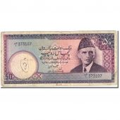 Billet, Pakistan, 50 Rupees, 1981-1982, Undated (1981-1982), KM:35, TB