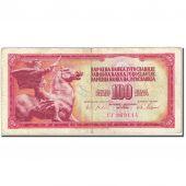Banknote, Yugoslavia, 100 Dinara, 1965, 1965-08-01, KM:80c, VF(20-25)