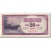 Billet, Yougoslavie, 20 Dinara, 1974, 1974-12-19, KM:85, TB+