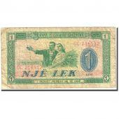 Banknote, Albania, 1 Lek, 1976, 1976, KM:40a, F(12-15)