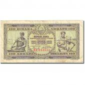 Billet, Yougoslavie, 100 Dinara, 1946, 1946-05-01, KM:65a, TB+