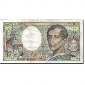 France, 200 Francs 1981-1994 Montesquieu, 1968-1981, 1992, AU(55-58) KM:155e