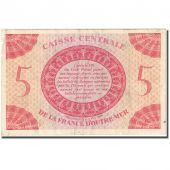 Banknote, French Equatorial Africa, 5 Francs, 1944, 1944-02-02, KM:15a