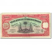 Banknote, BRITISH WEST AFRICA, 20 Shillings, 1928, 1937-01-04, KM:8b, VF(20-25)
