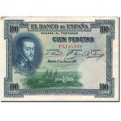 Banknote, Spain, 100 Pesetas, 1925, 1925-07-01, KM:69c, VF(20-25)
