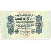 Billet, Allemagne, 100 Mark, 1922, 1922-08-04, KM:75, TB+
