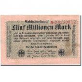Billet, Allemagne, 5 Millionen Mark, 1923, 1923-08-20, KM:105, TB