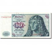 Billet, République fédérale allemande, 10 Deutsche Mark, 1980, 1980-01-02