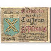 Banknote, Germany, Castrop, 25 Pfennig, Ecusson, 1921, 1921-03-24, VF(20-25)
