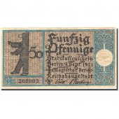 Banknote, Germany, Berlin, 50 Pfennig, ours, 1921, 1921-09-09, VF(30-35)