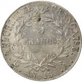 Premier Empire, 5 Francs Napoléon Empereur An 13 Paris, KM 662.1