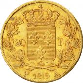 Louis XVIII, 20 Francs or buste nu 1819 Paris, KM 712.1