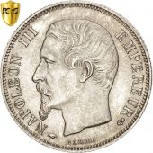Second Empire, 1 Franc Napoléon III tête nue 1859 Paris, PCGS MS64, KM 779.1