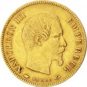Second Empire, 10 Francs or Napol�on III t�te nue 1857 Paris, KM 784.3