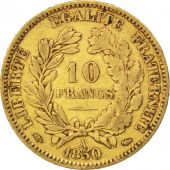 II�me R�publique, 10 Francs or C�r�s 1850 Paris, oreille basse, KM 770