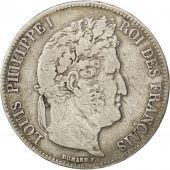 Louis Philippe Ier, 5 Francs t�te laur�e 1839 Paris, KM 749.1