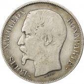 II�me R�publique, 5 Francs Louis Napol�on Bonaparte 1852 Paris, KM 773.1