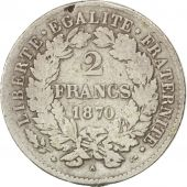 Gouvernement de Défense Nationale, 2 Francs Cérès 1870 Paris, KM 817.1