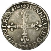 Henri III, � Ecu, cross face