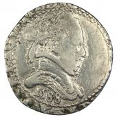 Henri III, Demi Franc in collar flat