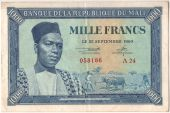 Mali, 1000 Francs type Modiba Keita