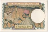 Western Africa, 5 Francs type 1934-37