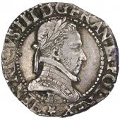 Henry III, Demi Franc with flat neck
