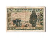 Senegal, 500 Francs type 1959-65