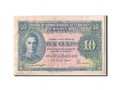 Malaisie, 10 Cents type George VI