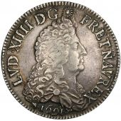 Louis XIV, �cu with 8 L