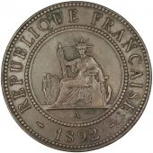 Indochine, 1 Cent, 1892 A