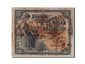Belgian Congo, 5 Francs type 1941-50, Fifth issue - 1944