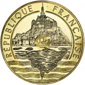 Vème République, 20 Francs Mont Saint-Michel