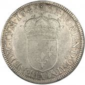 Louis XIV, ½ Ecu with long lock