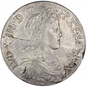 Louis XIV, Ecu with long lock