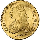 Louis XVI, Double Louis d'or de B�arn with dressed bust