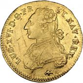 Louis XVI, Double Louis d'or with dressed bust