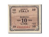 Italy, 10 Lire, 1943A, KM:M19a, Undated, UNC(63)