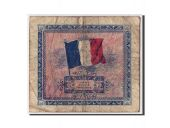 France, 2 Francs, 1944 Flag/France, 1944, Undated, KM:114b, B+, Fayette:VF16.2