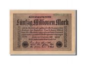Allemagne, 50 Millions Mark, 1923, KM:109b, 1923-09-01, SUP+